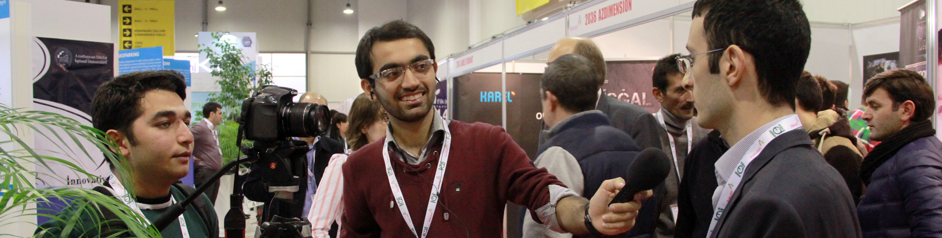 ACM representative gives interview at BakuTel 2014